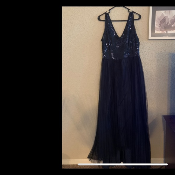 Adrianna Papell Dresses & Skirts - Blue ball gown